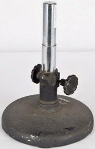 American Optical 9 75 Laboratory Adjustable Microscope Table Boom Stand Base