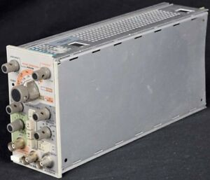 Tektronix Pg 505 Industrial Plug in Pulse Duration Generator Module Unit