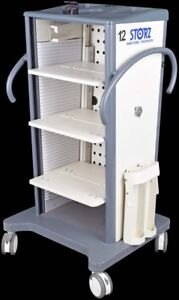 Karl Storz Medical Laboratory Mobile Endoskope Video Tower Cart Stand Unit 9606