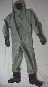 Msa Auer Hazmat Chemical Gas Tight Protective Safety Suit 4