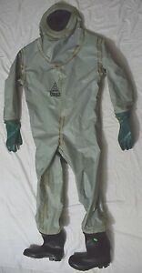 Msa Auer Hazmat Chemical Gas Tight Protective Safety Suit 1