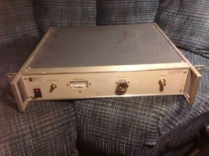 Amt American Microwave Technology Rf Power Source Model Rps 200 200 Mhz