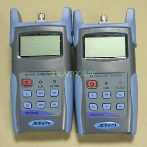 Joinwit Fiber Tester Handheld Optical Power Meter Optical Laser Source 1310 1550