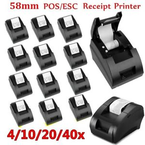 58mm Portable Usb Thermal Dot Receipt Printer Esc pos Barcode Ticket Printer Bp