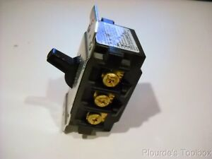Hubbell Hbl7810d 30 Amp 600v 3 Phase Disconnect Switch