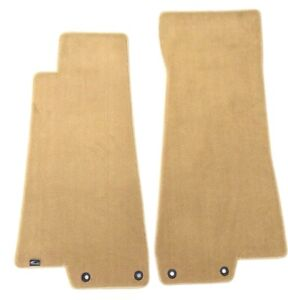 Jaguar Xk8 Plush Custom Carpet Floor Mats Tan Fronts Fits 1997 2006 Lloyd S