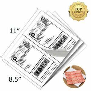 8 5x5 5 Direct Corner Half Sheet Self adhesive Shipping Labels Ups Usps Fedex