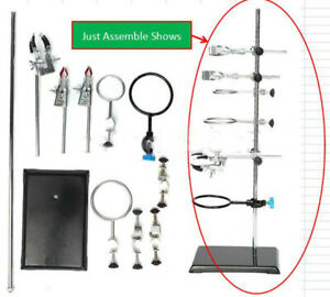 New Laboratory Stands Support And Lab Clamp Flask Clamp Condenser Clamp Stands