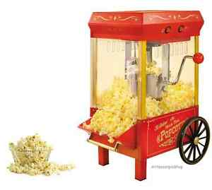 Kettle Popcorn Maker Vintage Collection Table Top Popper Machine Snack Party