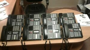 Nortel Norstar Mics Office Phone System Meridian 8 Phones Plus User Guides Clean
