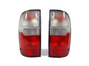 Depo Jdm Red Clear Tail Lights For 1995 2000 Toyota Tacoma Pickup Truck 2wd 4wd