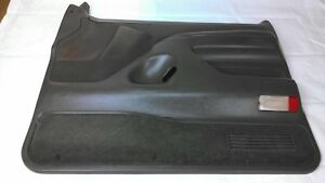 1992 1993 Ford F150 F250 F350 Bronco Dark Grey Passenger Door Panel Xlt Power