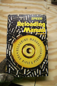 SPEER RELOADING MANUAL NUMBER 11 FOR RIFLE AND PISTOL HARDCOVER