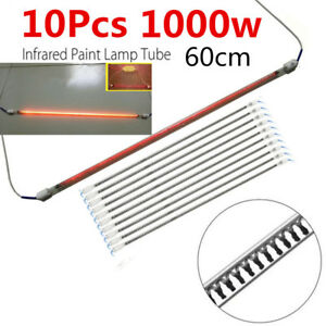23 6 1kw Infrared Heated Tube Light Spray Oven Booth Paint Lamp Replacement 10x