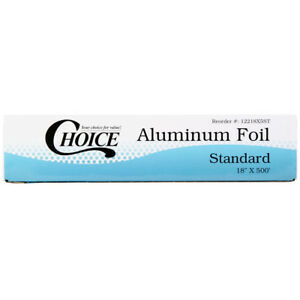 Choice 18 X 500 Food Service Standard Aluminum Foil Roll Reynolds Wrap