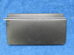 1957 58 Plymouth Black Dash Radio Delete Plate With Trim Nos Mopar 818