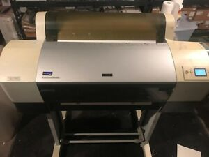 Epson Pro 7800 24 Wide Format Printer may Need Printhead cleaning