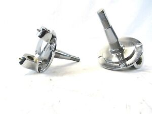 1928 48 Ford Steel Spindle W King Pin Kit Chrome Bpc 1008c