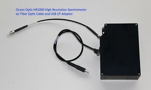 Ocean Optics Hr2000 High Resolution Fiber Optic Spectrometer
