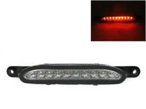 Clear Lens Red Led Rear 3rd Third Brake Light For 1994 1998 Ford Mustang Gt V6