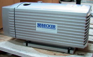 Becker Vt 4 16 Rotary Vane Vacuum Pump Oil less New