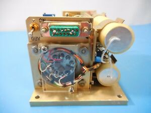 Lnr Communications Y16 Oscillator Assembly Pulled From A Lnr Nc4 45sc