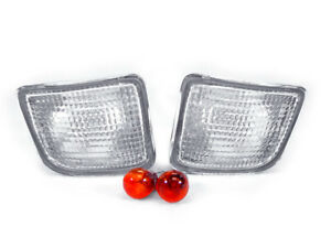 Depo Jdm Pair Of Clear Bumper Lights For 1998 2000 Toyota Tacoma Truck 2wd 4wd