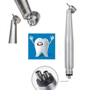 Dental High Speed 45 Degree Led E generator Pushtype 4 Hole Handpiece Nsk Style