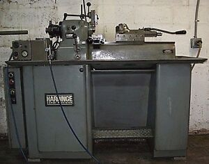 Hardinge Super Precision Bar 2nd Operation Dv 59 Dsm 59 Turret Lathe W slides