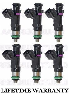 Oem Genuine Bosch 6x Fuel Injectors For Nissan Pathfinder Xterra Frontier 4 0l