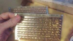 Augat Wire Wrap Prototype Board Gold Plated Lot Of 2 36 tt040 A l 1 54