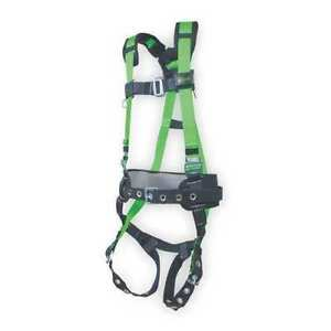 Miller By Honeywell 650cn bp ugn Full Body Harness Universal 400 Lb Green L xl