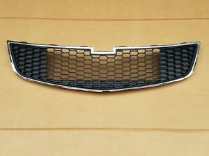 Fits 2011 2014 Chevy Cruze Front Bumper Bottom Grille Middle lower New 95225615