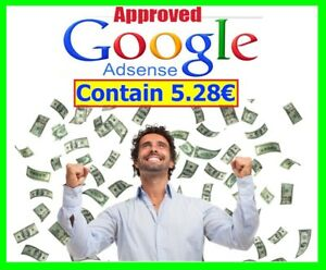 Approved Google Adsense Account Contains 5 28 Non Hosted For Website Youtube