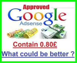 Uk Approved Google Adsense Account Contains 0 80 Non Hosted For Website