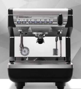Simonelli Appia Volumetric 1 Group Commercial Espresso Machine Home Or Business