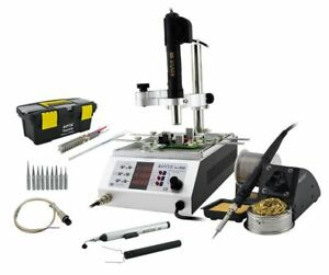 Aoyue 866 Soldering Iron Station Hot Air And Preheating Station