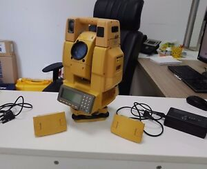Topcon Gpt 8520a Robotic Electronic Auto Tracking Calibrated Total Staion