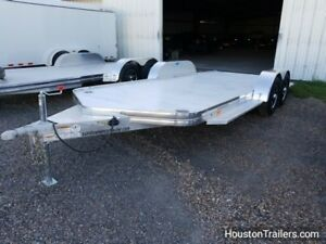 2018 Sundowner Trailers 20 to Front Of Tapered Nose Car Hauler Sd 95