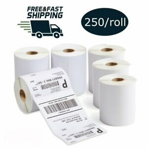 4x6 250 roll Direct Thermal Shipping Labels Zebra 2844 Eltron Zebra 2844 Zp 450