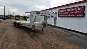 2018 Sundowner Trailers 25 Xl Deckover Flatbed Aluminum Sd 43