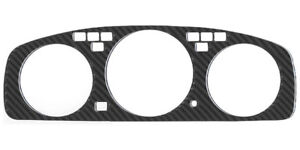 Jdm Real Carbon Fiber Instrument Cluster Bezel Fit For 1992 1995 Honda Civic Eg