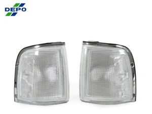 Depo Jdm Pair Of Front Clear Corner Lights For 1991 1997 Isuzu Rodeo