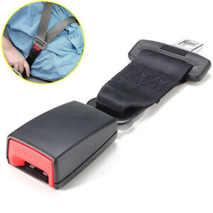 Universal Car Safety Seat Adjustable Belt Extender Extension Clip Buckle 9 Inch