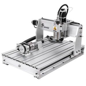 4axis Cnc Router 6040 Engraver Usb Router Engraving Milling Machine 3d Cutter