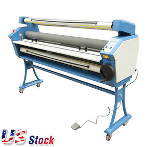 55 Full auto Wide Format Cold Laminator Roll To Roll Laminator Ac110v Usa Stock