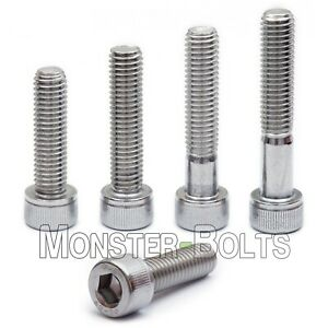 M6 Stainless Steel Socket Head Cap Screws A2 18 8 Metric Din 912 1 0 Coarse