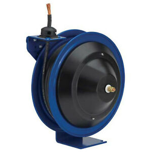 Spring Rewind Welding Reel No Cable 25 1 0 Capacity Lot Of 1