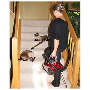Atrix Lil Red Hepa Canister Vacuum Lot Of 1