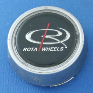 Rota Wheels Plastic Center Cap 2513 Gray 2 1 2 Wide